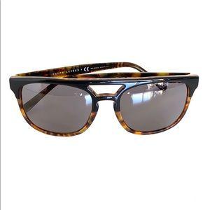 Polo Ralph Lauren Men Polarized Havana Sunglasses